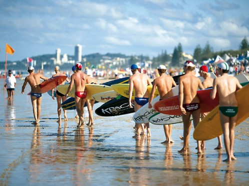 Top surf life savers line up for Aussies