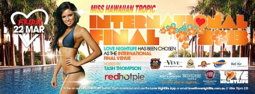 Miss Hawaiian Tropic girls set to swing by