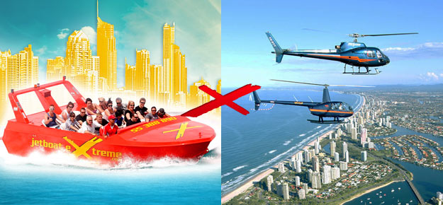 Gold Coast Heli Tours and Jet Boat Ride
