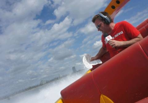 Nova broadcasts live from Jetboat Extreme